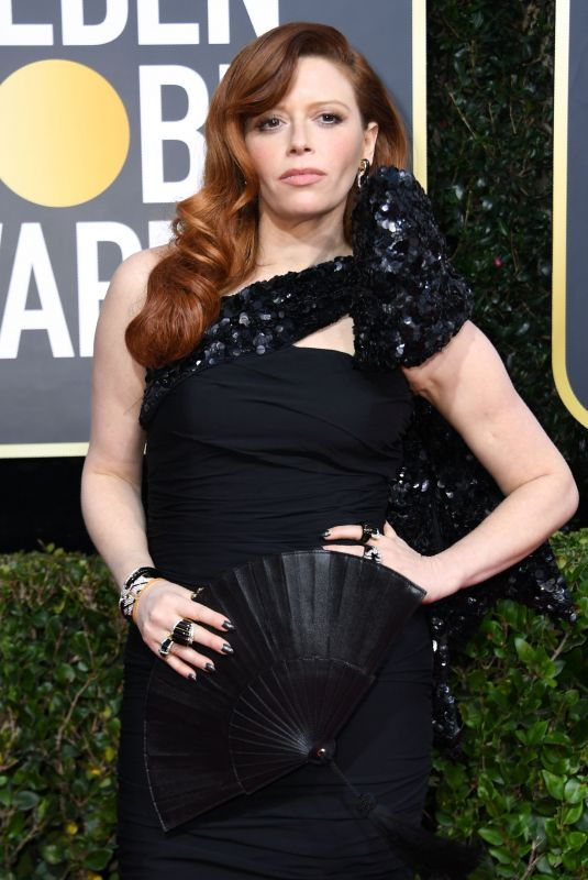 NATASHA LYONNE at 77th Annual Golden Globe Awards in Beverly Hills 01/05/2020