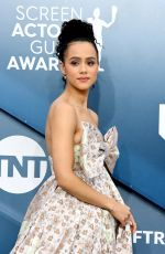 NATHALIE EMMANUEL at 26th Annual Screen Actors Guild Awards in Los Angeles 01/19/2020