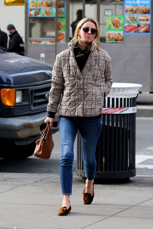NICKY HILTON Out and About in New York 01/23/2020