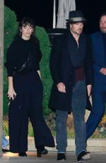 NIKKI REED and Ian Somerhalder Out for Dinner in Malibu 01/16/2020