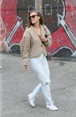 NINA AGDAL at Sant Ambroeus in New York 01/11/2020