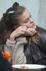 NINA AGDAL Out for Lunch in New York 01/11/2020