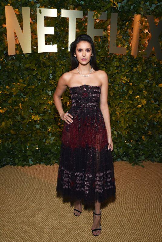 NINA DOBREV at Netflix 2020 Golden Globes After-party in Los Angeles 01/05/2020