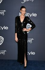ODETTE ANNABLE at Instyle and Warner Bros. Golden Globe Awards Party 01/05/2020