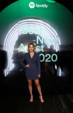 OLIVIA HOLT at Spotify Hosts Best New Artist Party in Los Angeles 01/23/2020