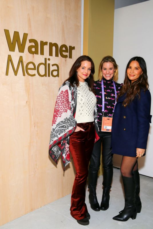 OLIVIA MUNN at WarnerMedia Sundance Kickoff Party in Park City 01/24/2020