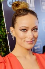 OLIVIA WILDE at 25th Annual Critics Choice Awards in Santa Monica 01/12/2020