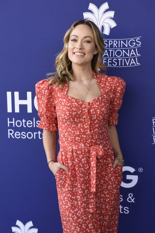 OLIVIA WILDE at Booksmart Screening at 31st Palm Springs International Film Festival 01/03/2020