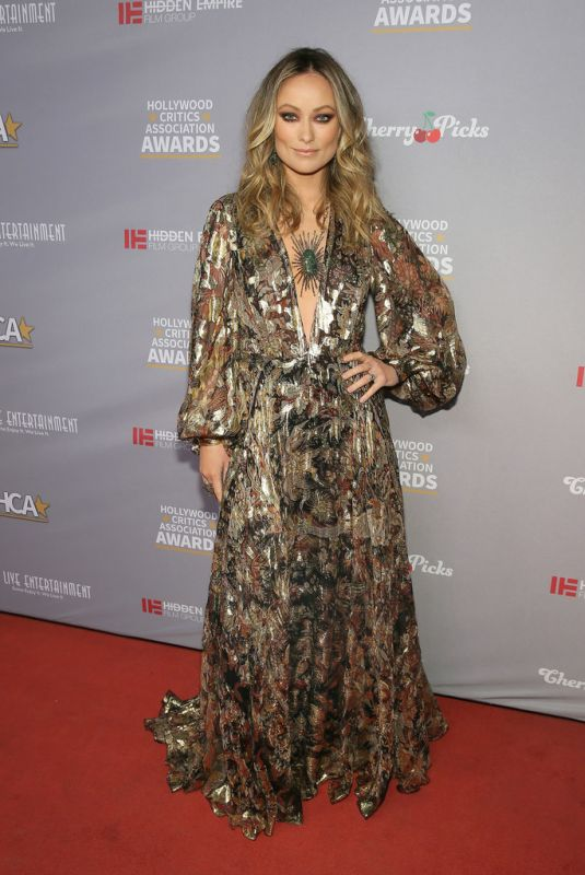 OLIVIA WILDE at Hollywood Critics Awards in Los Angeles 01/09/2020