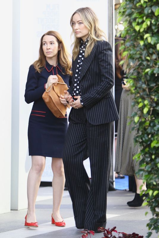 OLIVIA WILDE Out in Beverly Hills 01/04/2020
