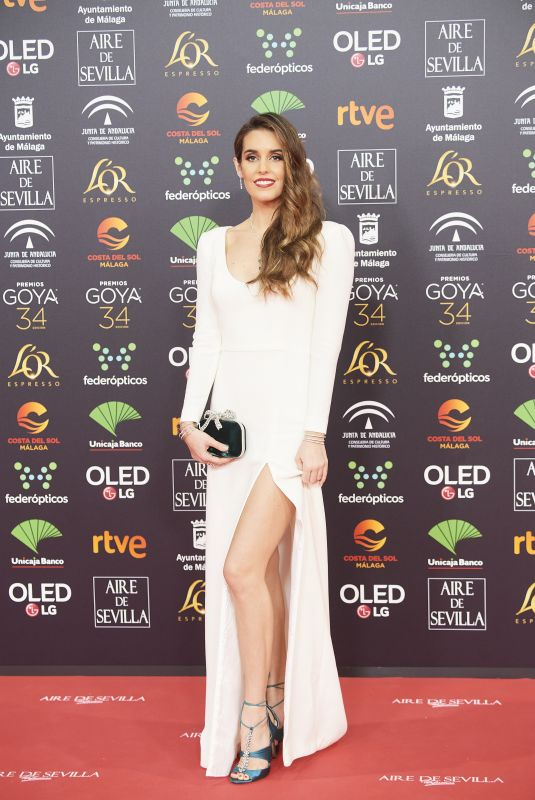ONA CARBONELL at 34th Goya Cinema Awards 2020 in Madrid 01/25/2020
