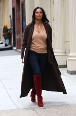 PADMA LAKSHMI Out and About in New York 01/29/2020