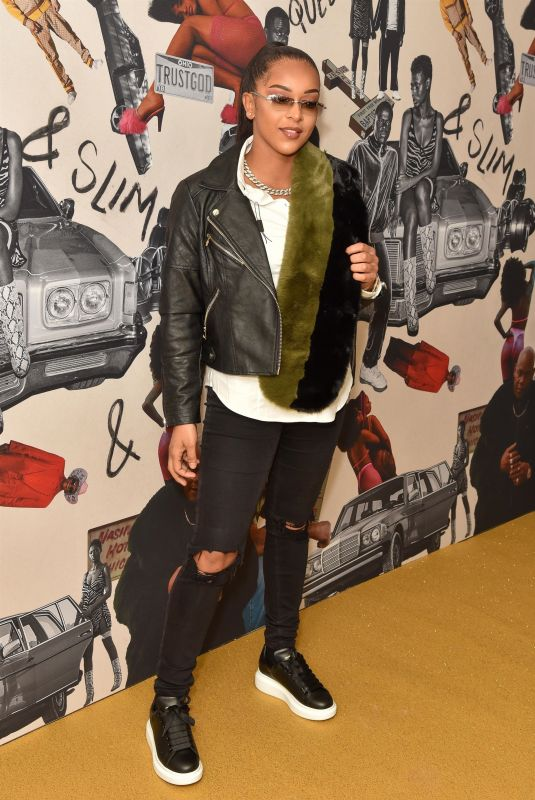 PAIGEY CAKEY at Queen & Slim Premiere in London 01/28/2020