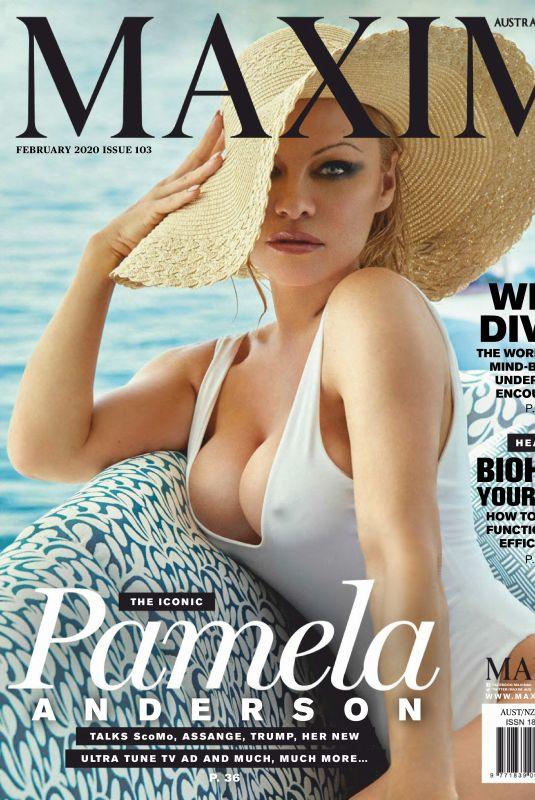 PAMELA ANDERSON in Maxim Magazine, Australia February 2020