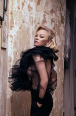 PAMELA ANDERSON in Vanity Fair Magazine, Italy January 2020