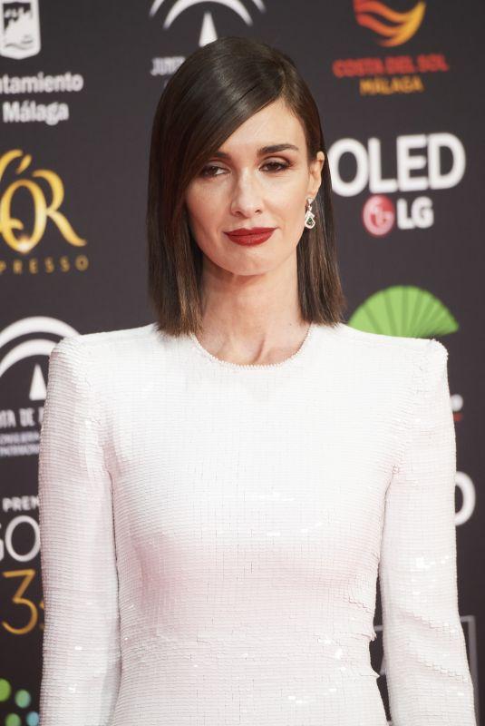 PAZ VEGA at 34th Goya Cinema Awards 2020 in Madrid 01/25/2020
