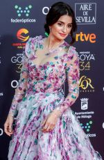 PENELOPE CRUZ at 34th Goya Cinema Awards 2020 in Madrid 01/25/2020