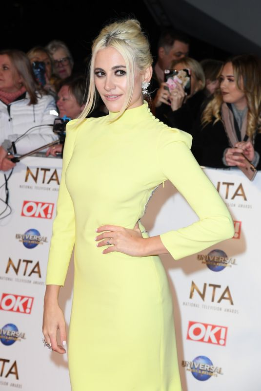 PIXIE LOTT at National Television Awards 2020 in London 01/28/2020