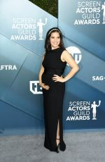 Pregnant AMERICA FERRERA at 26th Annual Screen Actors Guild Awards in Los Angeles 01/19/2020