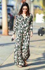 Pregnant JENNA DEWAN Out in Los Angeles 01/15/2020