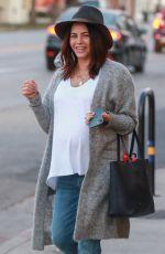 Pregnant JENNA DEWAN Out in Studio City 01/13/2020