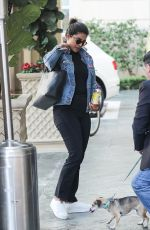 PRIYANKA CHOPRA Arrives at Peninsula in Beverly Hills 01/13/2020