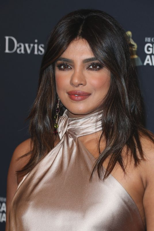 PRIYANKA CHOPRA at Recording Academy and Clive Davis Pre-Grammy Gala in Beverly Hills 01/25/2020