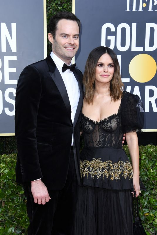 RACHEL BILSON and Bill Hader at 77th Annual Golden Globe Awards in Beverly Hills 01/05/2020