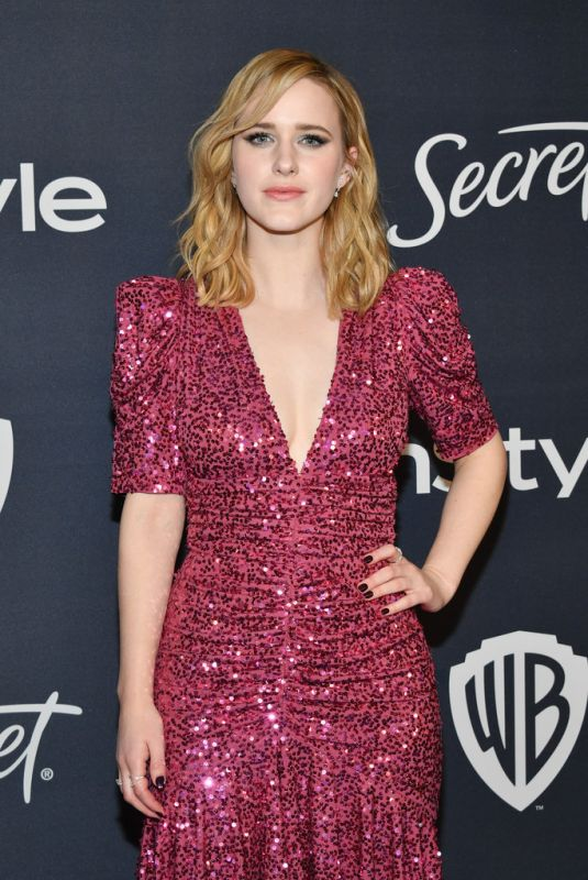 RACHEL BROSNAHAN at Instyle and Warner Bros. Golden Globe Awards Party 01/05/2020