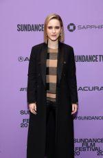 RACHEL BROSNAHAN at Ironbark Premiere at 2020 Sundance Film Festival 01/24/2020