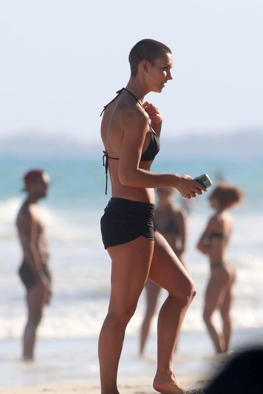 RACHEL COOK in Bikini at a Beach in Tulum 01/06/2020