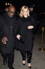 REESE WITHERSPOON Arrives at Giorgio Armani Show at Paris Fashion Week 01/21/2020