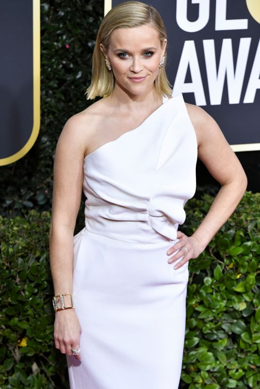 REESE WITHERSPOON at 77th Annual Golden Globe Awards in Beverly Hills 01/05/2020