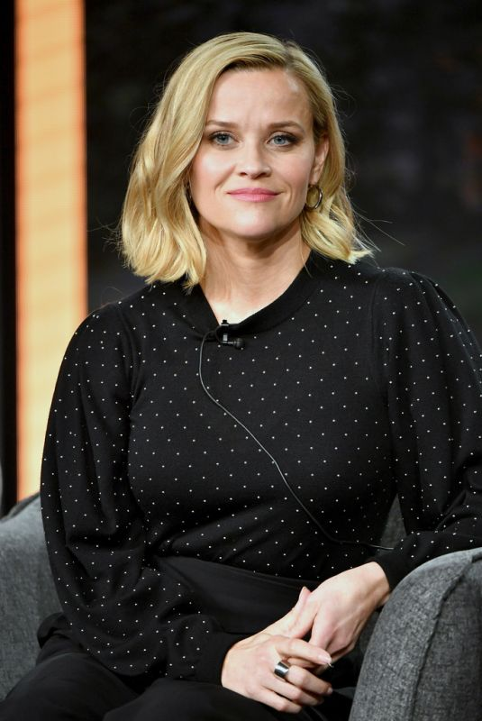 REESE WITHERSPOON at Hulu Panel at 2020 Winter TCA Tour in Pasadena 01/17/2020