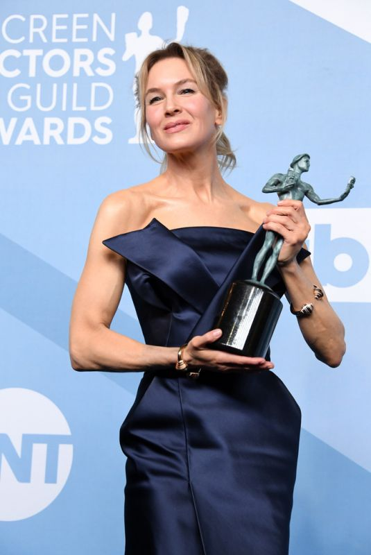 RENEE ZELLWEGER at 26th Annual Screen Actors Guild Awards in Los Angeles 01/19/2020