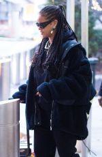 RIHANNA at JFK Airport in New York 01/16/2020