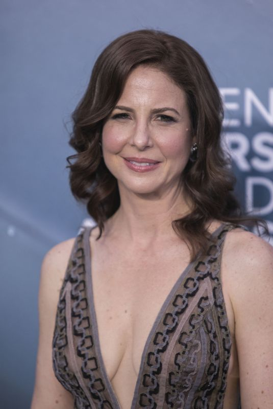 ROBIN WEIGERT at 26th Annual Screen Actors Guild Awards in Los Angeles 01/19/2020