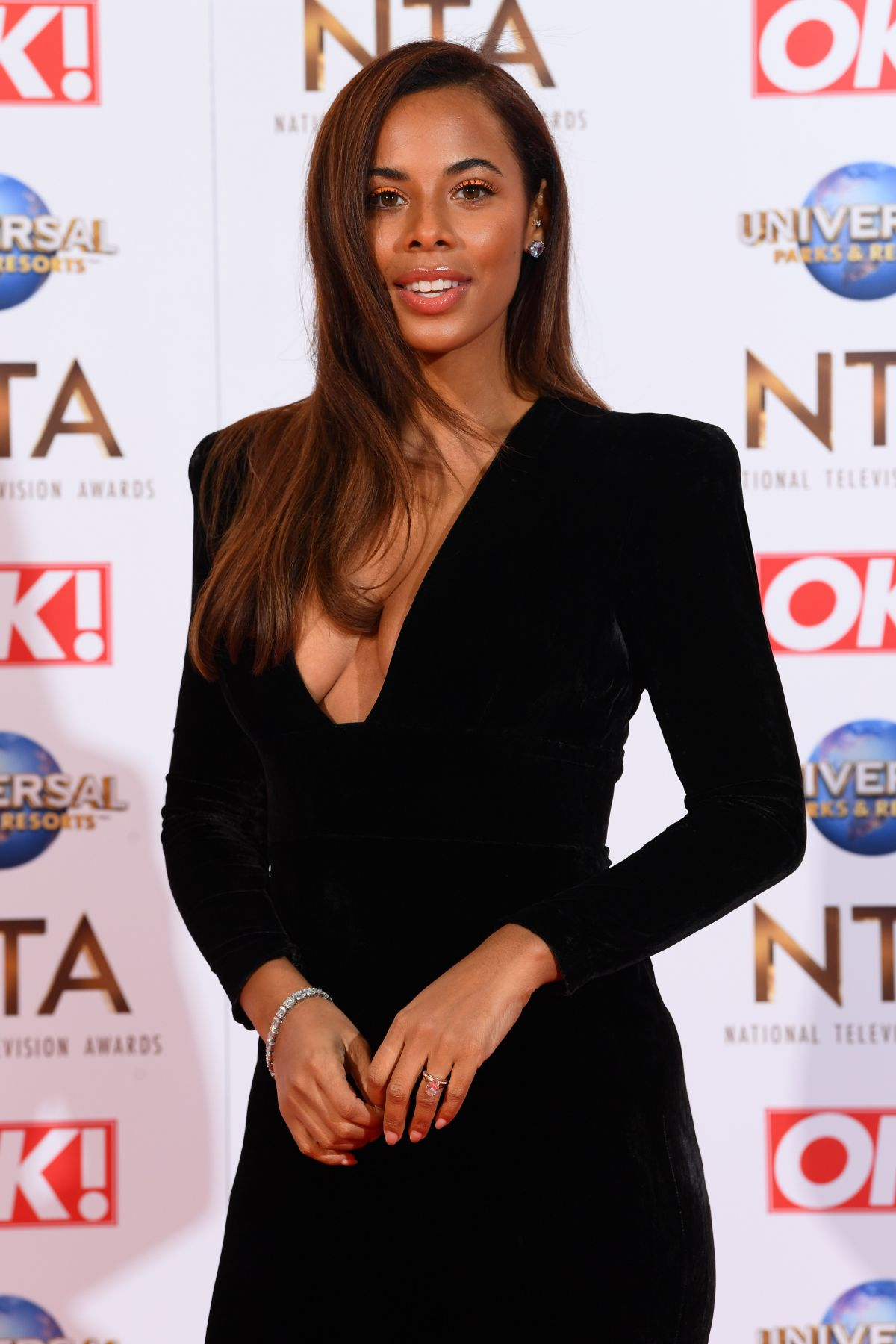 ROCHELLE HUMES at National Television Awards 2020 in ...