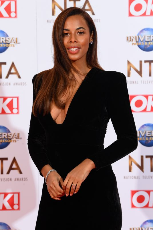 ROCHELLE HUMES at National Television Awards 2020 in London 01/28/2020