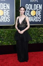 ROONEY MARA at 77th Annual Golden Globe Awards in Beverly Hills 01/05/2020