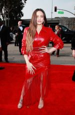 ROSALIA Arrives at 62nd Annual Grammy Awards in Los Angeles 01/26/2020