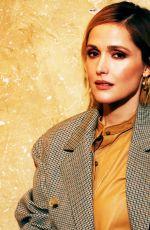 ROSE BYRNE for Backstage Magazine, January 2020
