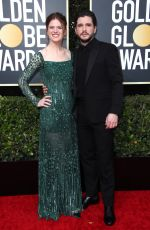ROSE LESLIE at 77th Annual Golden Globe Awards in Beverly Hills 01/05/2020