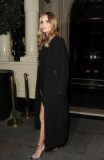 ROSIE HUNTINGTON-WHITELEY Arrives at Connaught Hotel in London 01/22/2020