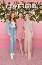 SADIE STANLEY at CoverGirl Clean Fresh Launch Party in Los Angeles 01/16/2020