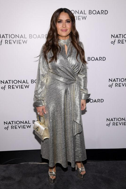 SALMA HAYEK at 2020 National Board of Review Gala in New York 01/08/2020