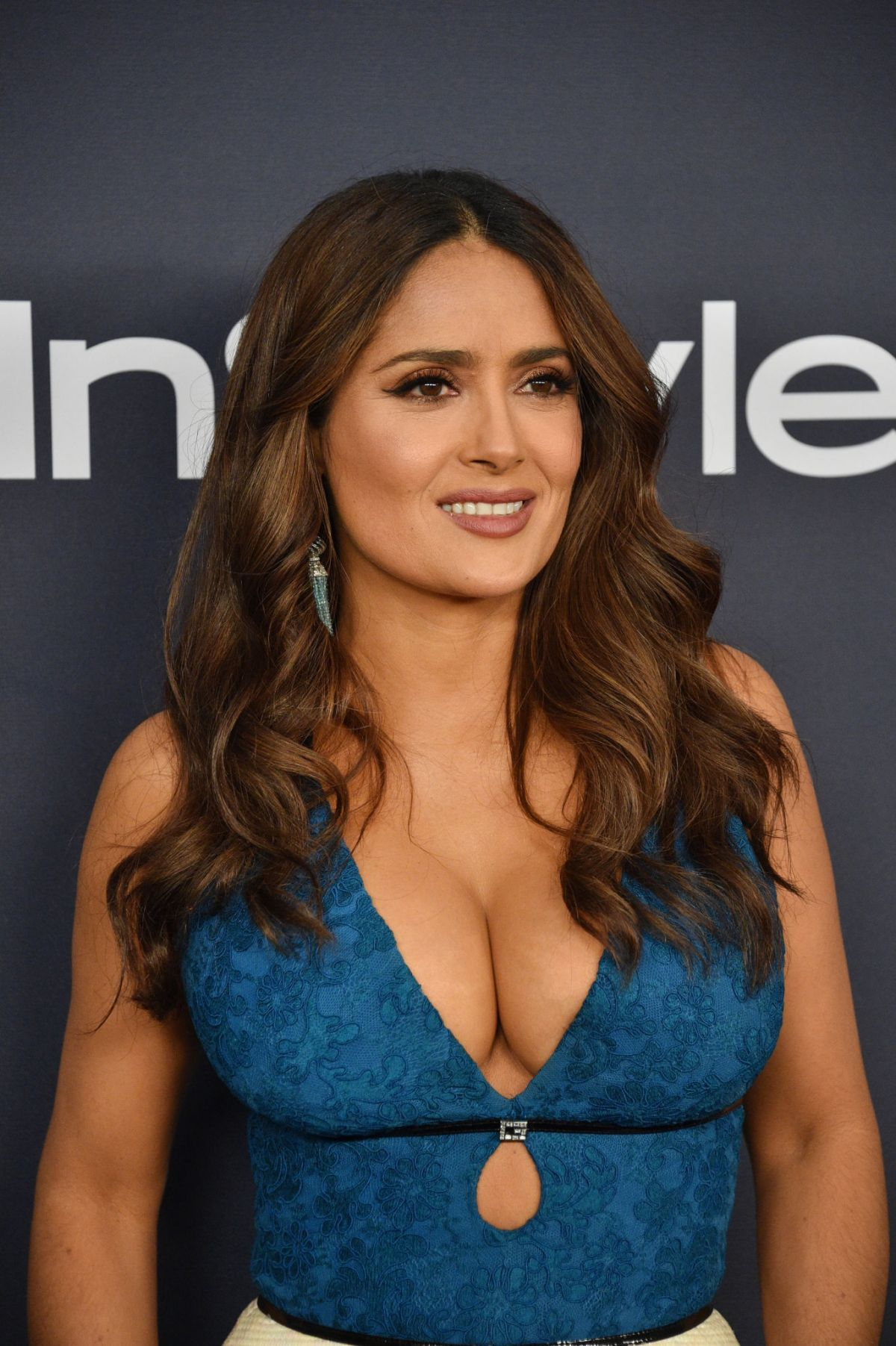 SALMA HAYEK at Instyle and Warner Bros. Golden Globe Awards Party 01\/05\/2020 – HawtCelebs