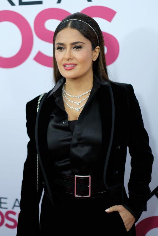 SALMA HAYEK at Like A Boss Premiere in New York 01/07/2020