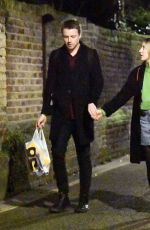 SAOIRSE RONAN and Jack Lowden Night Out in London 01/08/2020