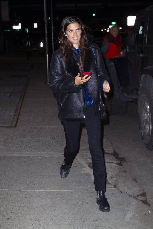 SARA SAMPAIO Leaves Victoria's Secret Photoshoot in New York 01/07/2020
